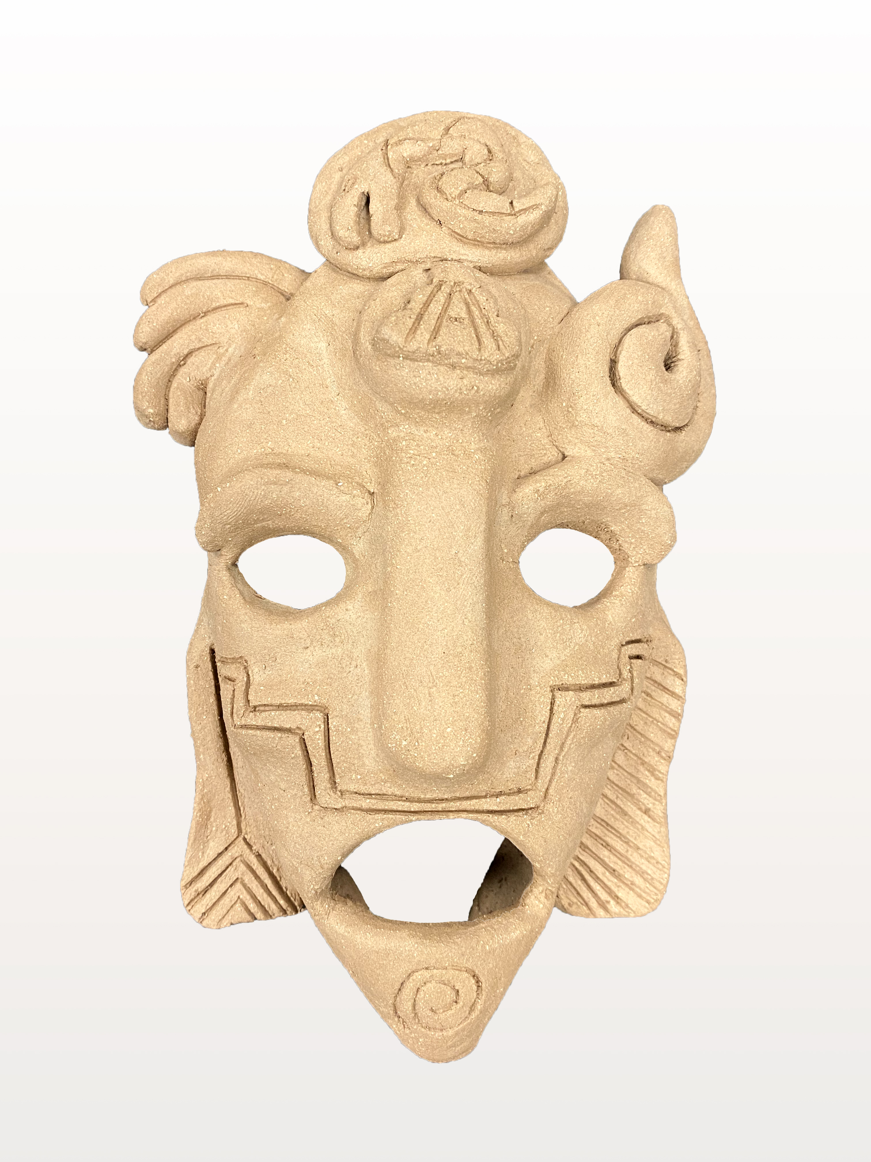 "11. ALEJANDRO GUIZAR  ""Mayan Mask"""