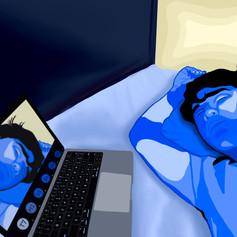 "44. THOMAS OLIVARES  ""Life Through a Screen"""