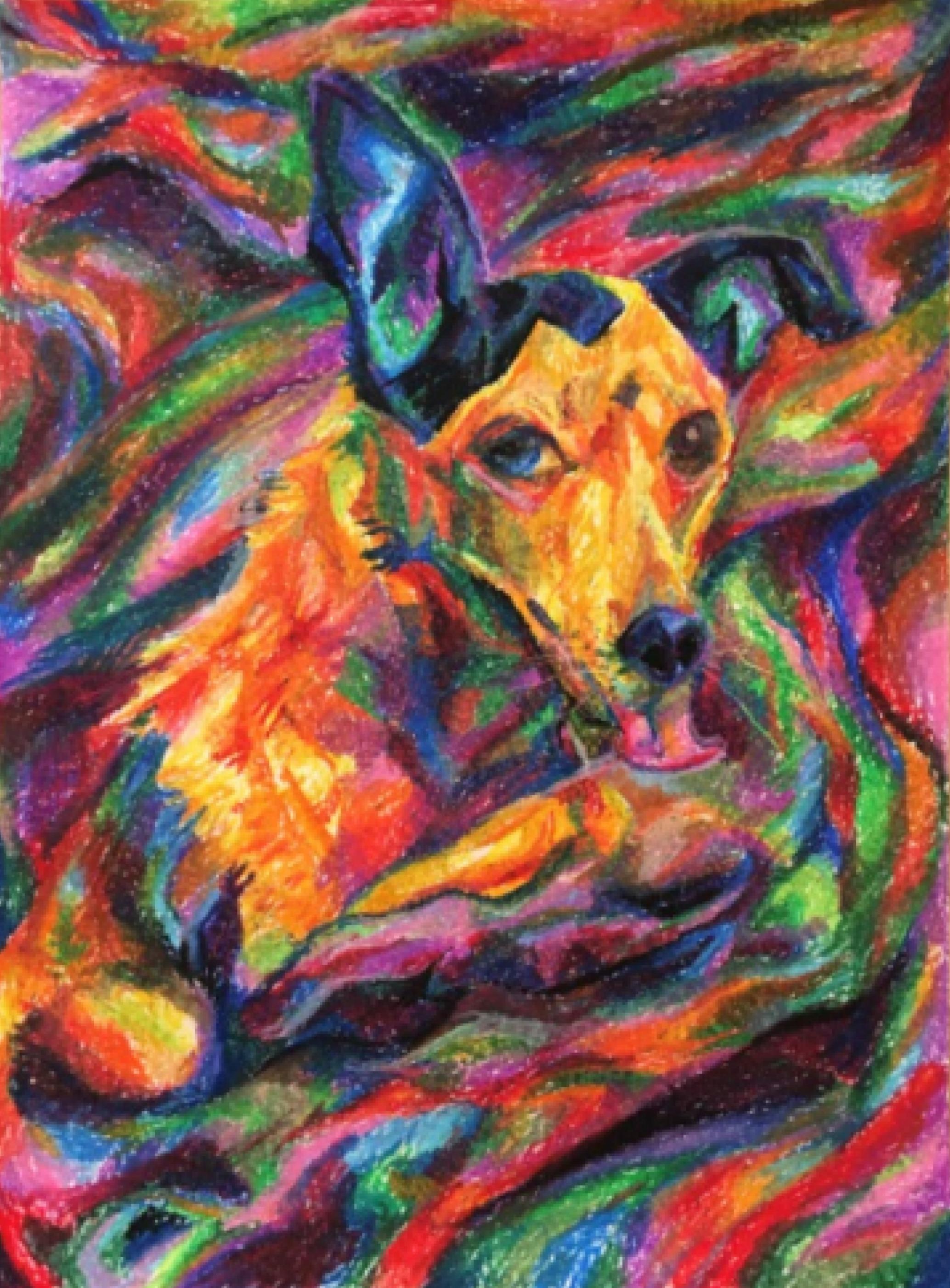"47. ARRIANNE JANELLE ORTEGA  ""My dog stole my blanket"""