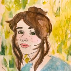 "41. MACI BARTON  ""Self Portrait"""