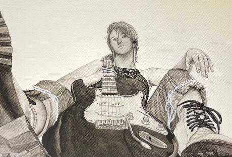 """34. Lexi Dominguez """"Self Portrait"""""""
