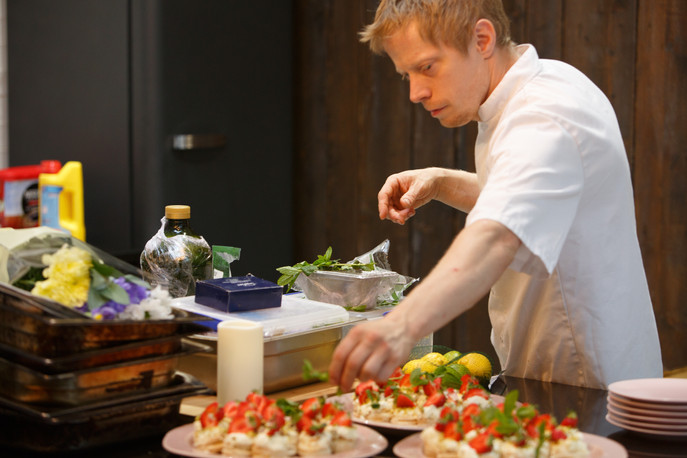 Chef Richard from Wags n Tales Surbiton