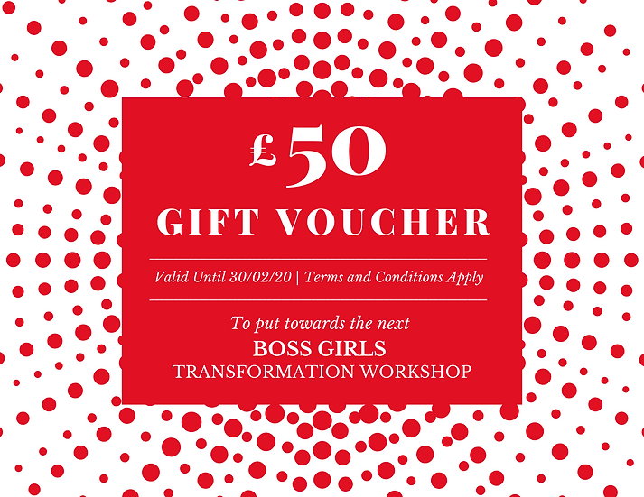 BOSS GIRLS GIFT VOUCHER