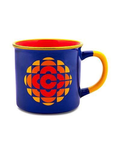 Iconic CBC Broadcasting Mug