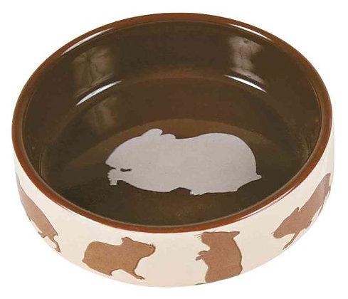 Keramiknapf mit Motiv, Hamster