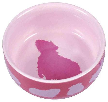 Keramiknapf mit Motiv, Meerschweinchen