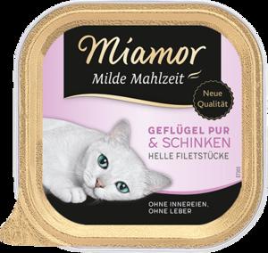 Miamor Milde Mahlzeit 100g Schale - verschiedene Sorten
