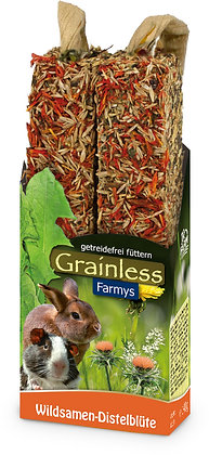 JR Grainless Farmys Wildsamen-Distelblüte  140g
