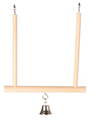 Trapezschaukel mit Glocke