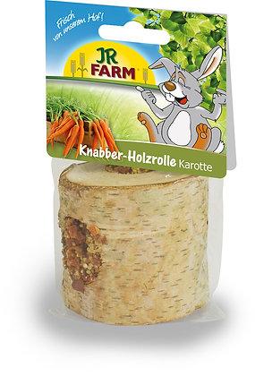 JR FARM Knabber-Holzrolle Karotte 150g