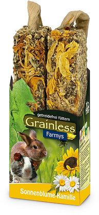 JR Grainless Farmys Sonnenblume-Kamille 140g