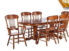 столы и стулья из массива. Малайзия
