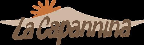 logo dello stabilimento balneare, La Capannina