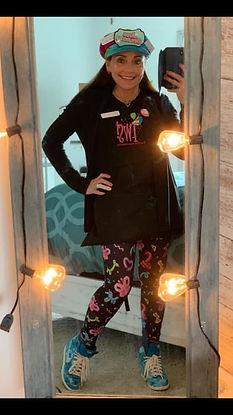 Corinne Sparkles in leggings.jpg
