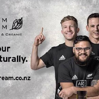 Dream Cream-All Blacks with Dream Cream
