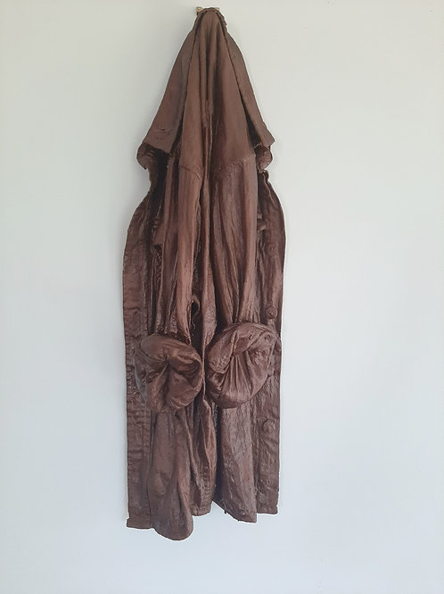 Ornamental Shirt - Metallic Rust