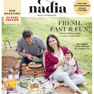 Dream Cream in Nadia Magazine