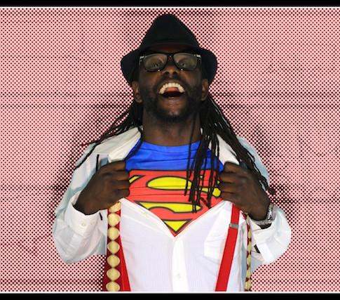 Black Clark Kent