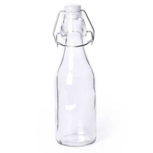Botella de cristal retro