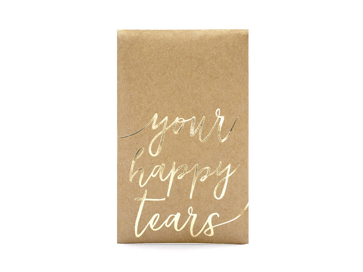 Pañuelos de bolsillo Your happy tears