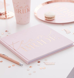 Team Bride Guest Book