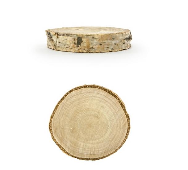 Rodajas de madera (Pack 20un)