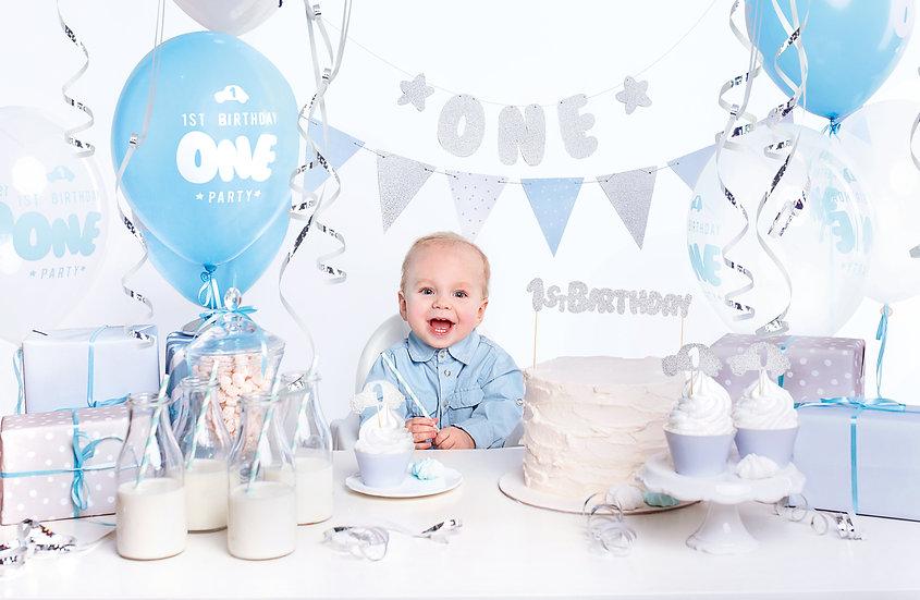 Set primer cumpleaños - Niño
