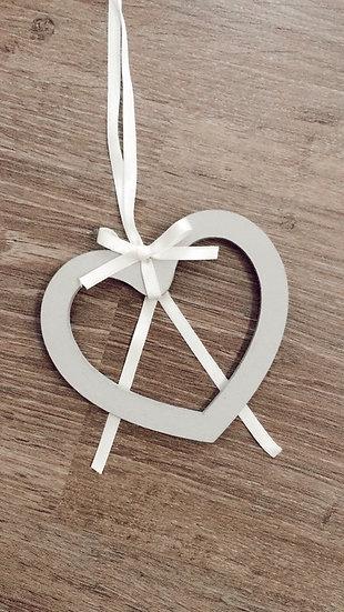 Porta alianzas corazón de madera