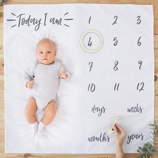 Manta para fotografiar a tu bebé