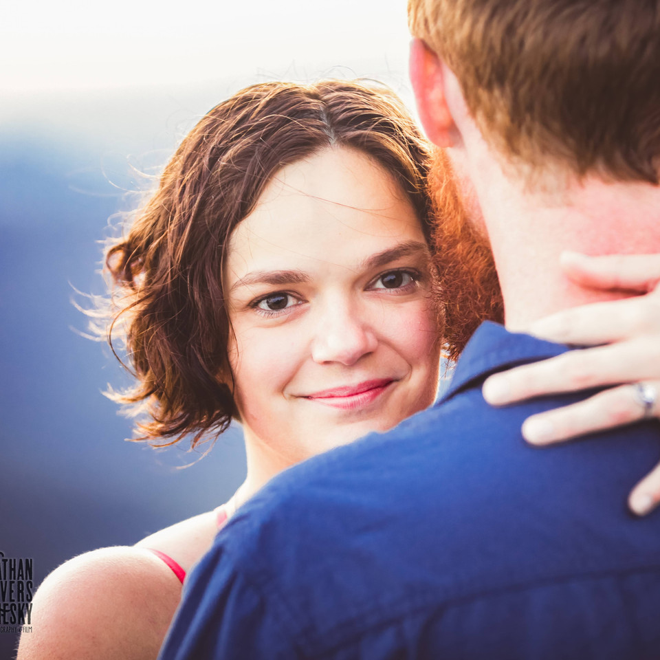 Craggy Gardens Engagement Photographym Asheville