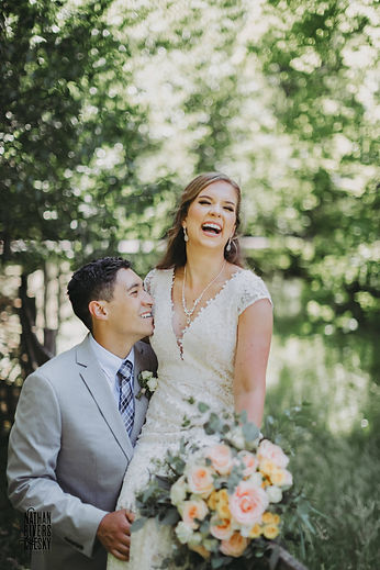 wnc bride and groom wedding photography.