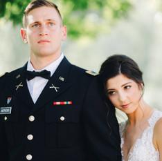Military Wedding Photography Asheville