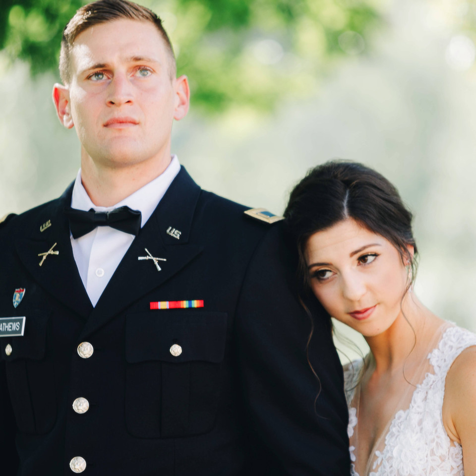Military Wedding Photography Asheville