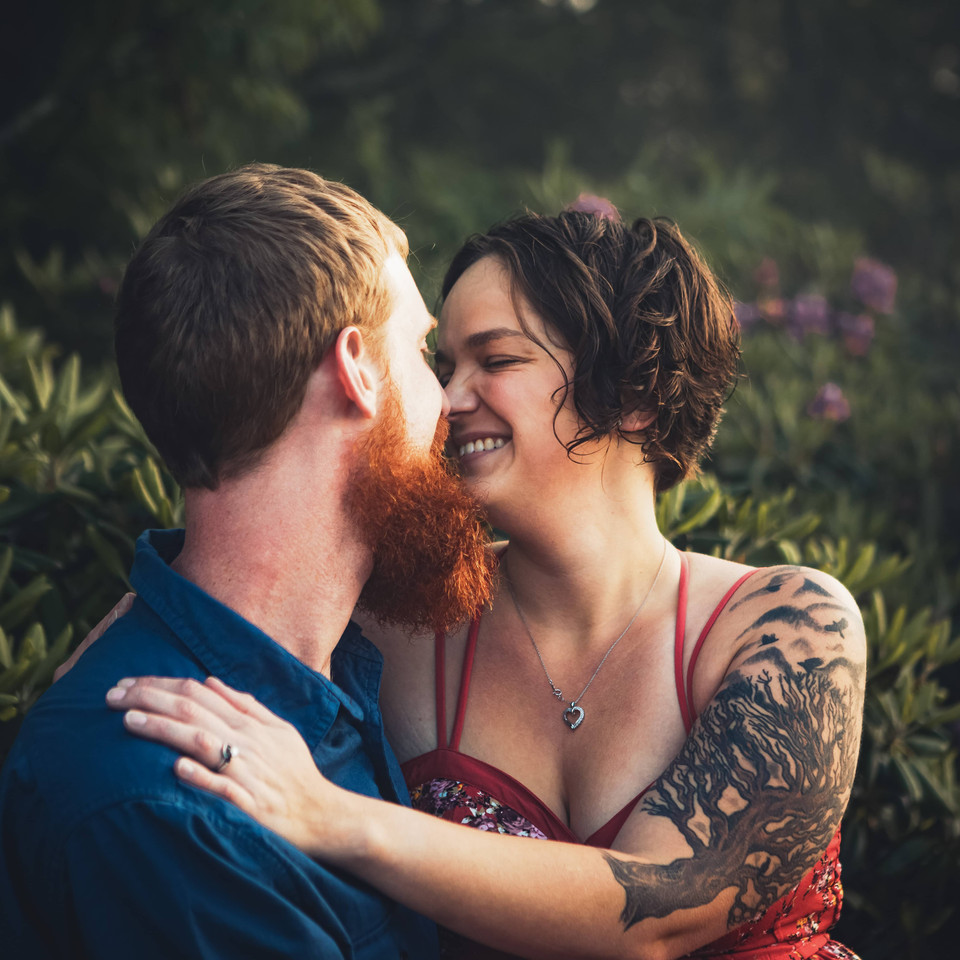 Craggy Gardens Engagement Photography