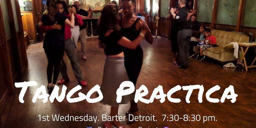 Tango Practica at Barter!