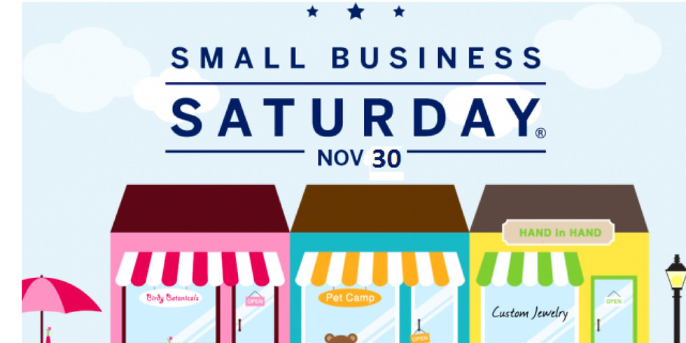 Small Business Saturday and All Day Happy Hour!