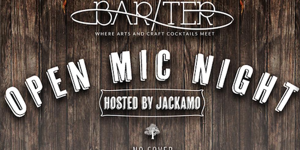 Bi-Monthly: Open Mic, hosted by Jackamo