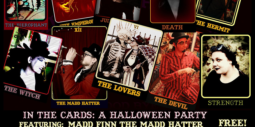 Last Thursday: In The Cards: A Halloween Party!