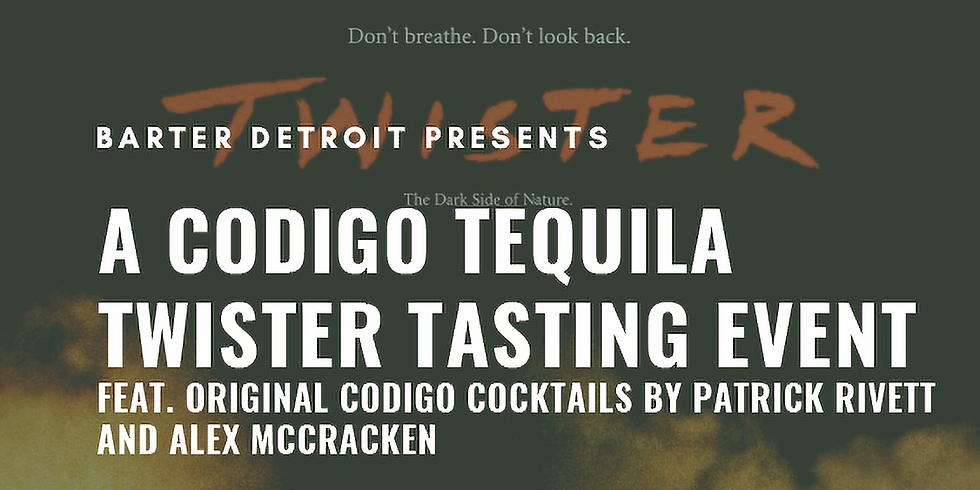 Codigo Tequila Tasting & Twister Party