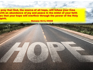 Hold Fast to Hope