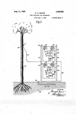 Tree Telephony and Telegraphy