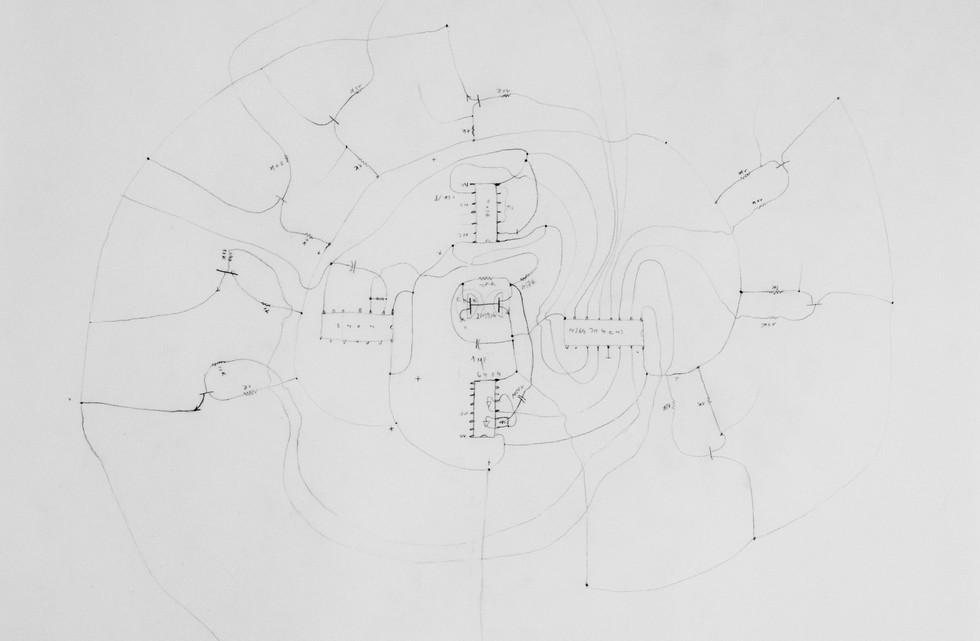 Cryptochrochet - Circuit diagram Random generator