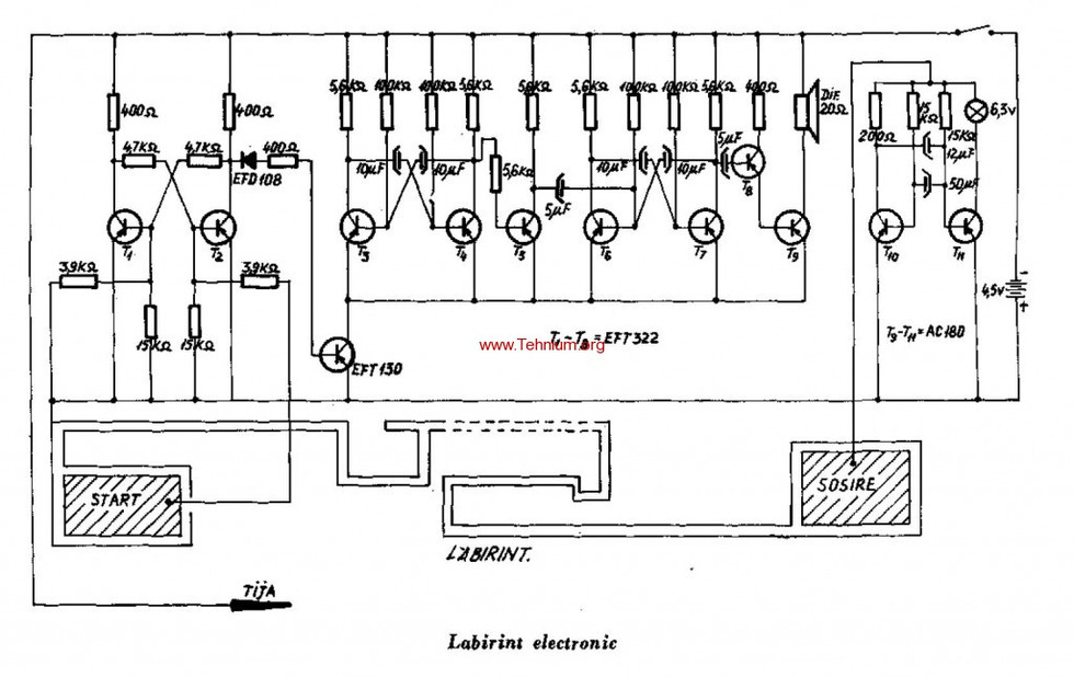 Electronic Labirint
