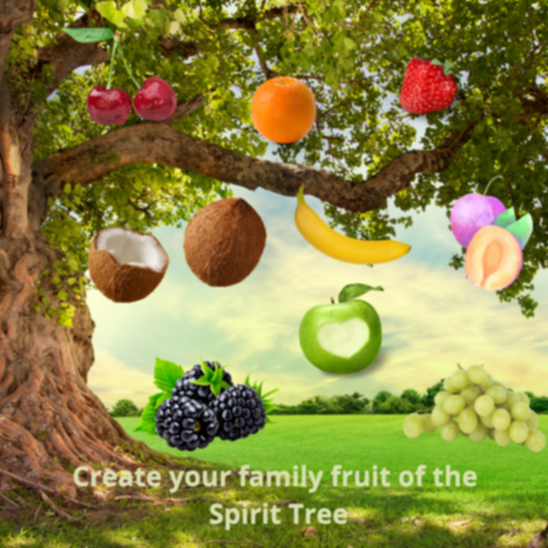 Hello VBS Families! Are you excited to get started learning about the Fruits of the Spirit? Love, Joy, Peace, Patience, Kindness, Goodness, Faithfulness, Gentleness, and Self-Control. We have a warm-up activity for you to do today. Please make your fruit of the Spirit tree so that each night you can add the three fruits we learn about to it. Also, don't forget to paint those rocks so they are ready to go tomorrow night. We have a little introduction to the learning videos so please watch and we will see you on Zoom tomorrow (click the image to view)!