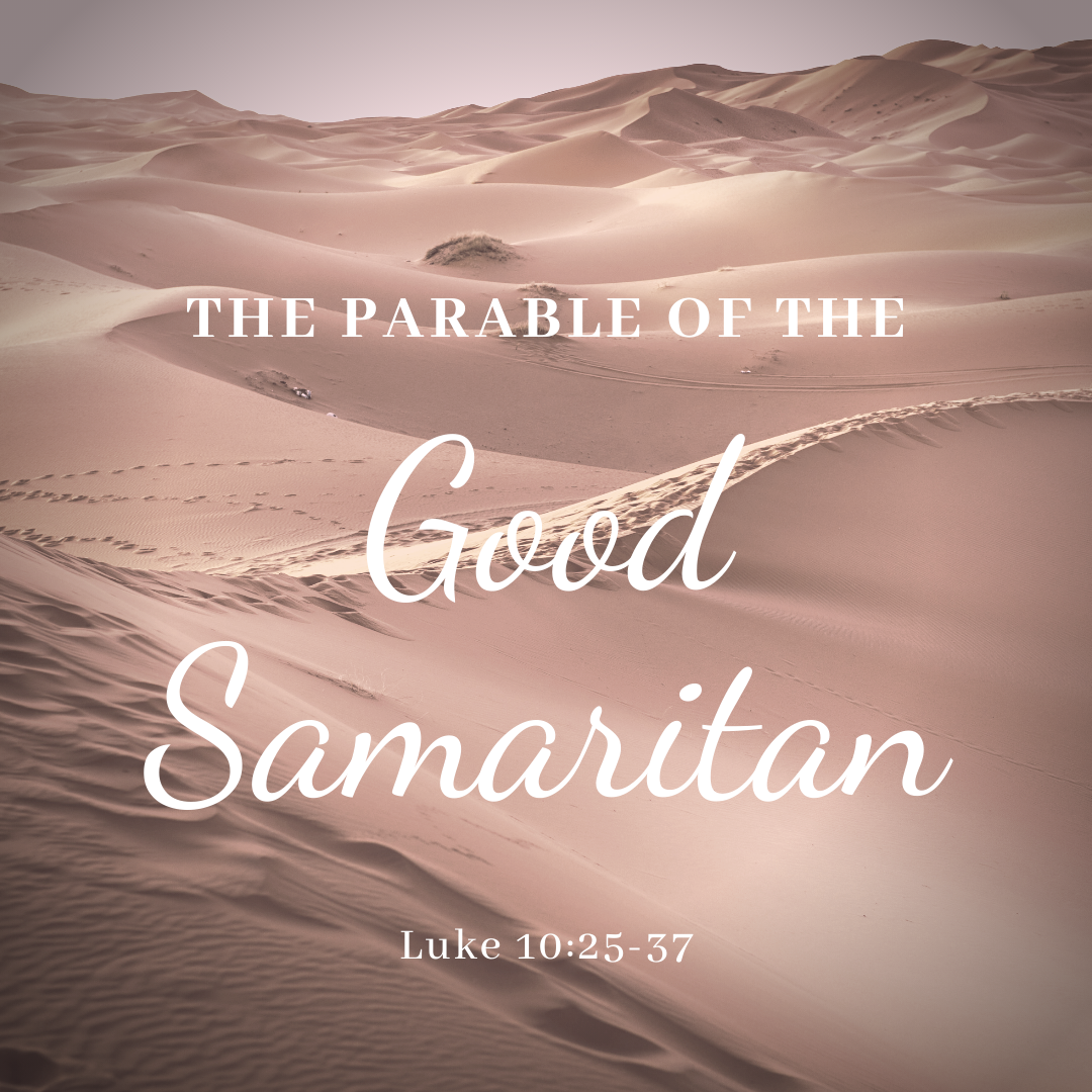 Jesus teaches us through his many parables. Remember that a parable is a story with a moral lesson. Jesus shares many stories about for us to learn it is how we treat each other with our words and actions that God cares about - not our jobs or where we were born. Please enjoy our PCCUCC skit of the Good Samaritan (click the image to view).