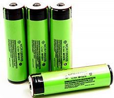 Le batterie nella subacquea.