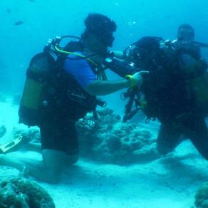 Ansia e panico nell'immersione subacquea.