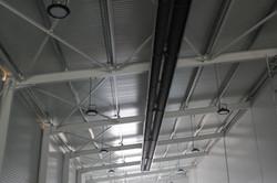 Vykurovací systém haly
