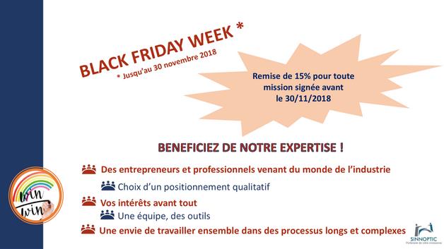 SINNOPTIC communique sur ses prestations uniques ....  Black Friday WEEK ! ! ! ! 3, 2, 1, 0  ... sig