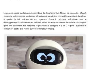 Un nouvel article de notre client LUDOCARE, issu de la newsletter Place Gre'net (n° 237) ! ! !